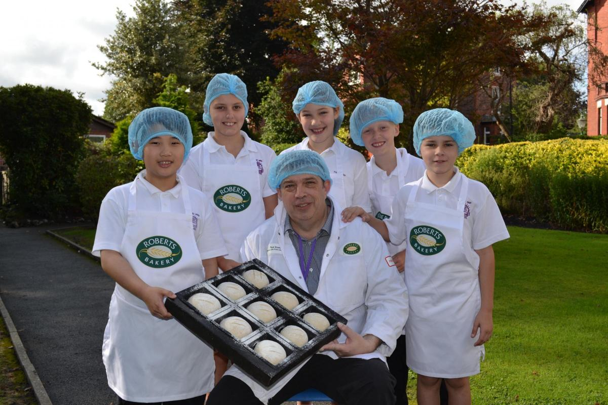 Timperley students learn to bake