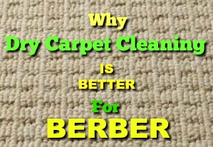 Dry carpet cleaning is better for manchester